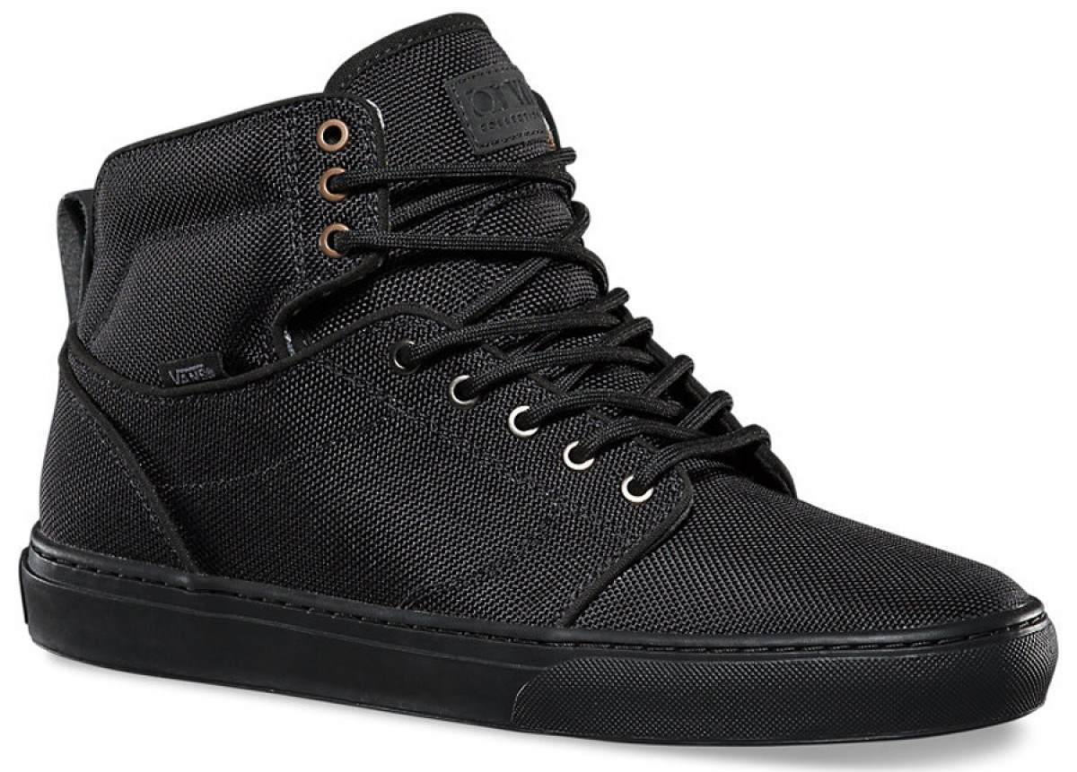 VANS Alomar (Tiger Clash) Black/Black Casual Skate MEN'S 6.5 WOMEN'S 8