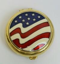 Estee Lauder 2003 America The Beautiful Flag Stars Lucidity Powder Compact BB - $89.99