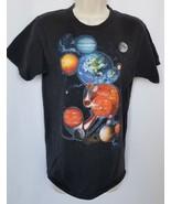 Disneyland Walt Disney World Mickey Mouse T-shirt Small Planets Earth Ma... - $12.86