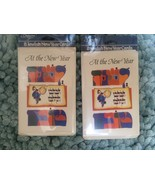 16 Jewish New Year Cards - New in sealed packages - includes card sent c... - $5.00