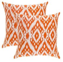 TreeWool, (2 Pack) Throw Pillow Covers Ikat Ogee Diamond Accent Decorati... - $16.99