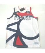 Nike Men Air Jordan FRANCE FFBB Tank Shirt - CT2187 - White 100 - Size X... - $69.99