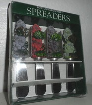 Grapes Vineyard Party Cheese Spreader Set 4 kni... - $12.17