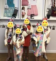 "Girls & 18"" Doll Unicorn Scarf Hoodies- Display Sample - $16.95"
