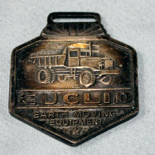 Vintage Euclid Earth Moving Equipment Watch FOB No Strap