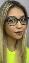 New LIU JO LJ 2602R 424 Blue 51mm Rx 51-16-135 Women's Eyeglasses Frame  - $99.99