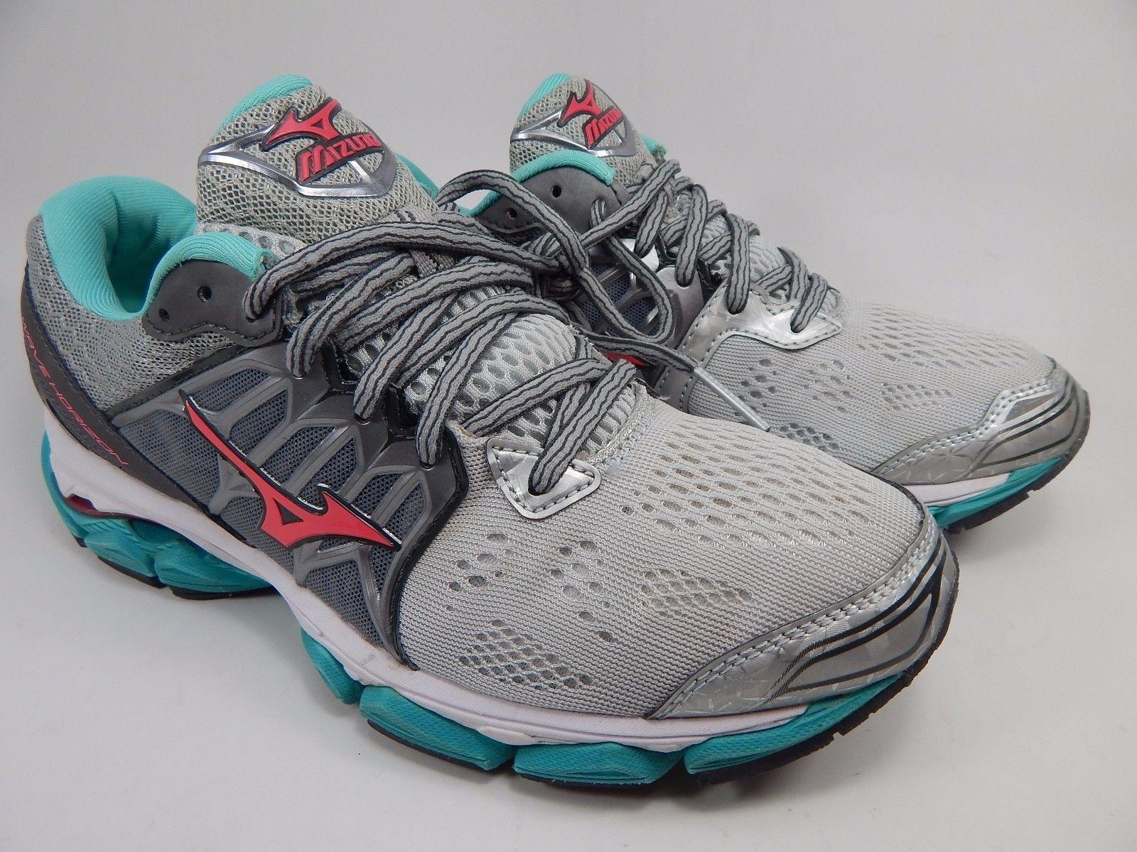 Mizuno Wave Horizon Women's Running Shoes Size US 8 M (B) EU: 38.5 Silver
