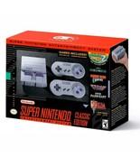 Super Nintendo Divertissement Système Classique Édition Snes [ Tout Nouveau - $140.11