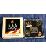 1992 JCPenney USA Olympic Pin Collector's Set - New in Box - $7.12