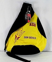 ASU Sun Devils Sling Backpack Teardrop Black/Yellow - $34.99
