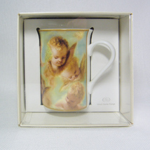 Club Royal ANGELS Coffee Mug Ideal Home Range Bone China Ntl Trust Germany - $14.00