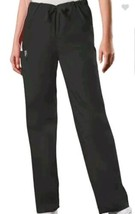 Cherokee Workwear Unisex Black Scrub Pants Sz XS - $12.86
