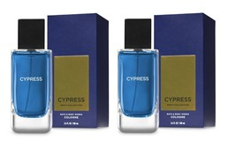 Bath & Body Works Cypress Men's Collection Cologne 3.4 oz - Pack of 2 Ne... - $58.50