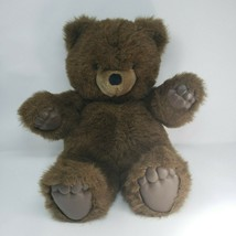 """18 """"grand vintage 1986 applause zachary brown teddy bear toy animal - $73.52"""