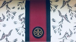 Tory Burch Kerrington Zip Continental  Wallet  Cape Floral NWT  - $208.79