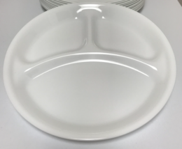 Corning Corelle Winter Frost White 6 Divided Grill Dinner Plates 10.25 inches - $42.00 & Corelle Dinner Plate: 5 customer reviews and 45 listings