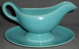 Gladding McBean - Franciscan EL PATIO PATTERN Glossy Turquoise GRAVY BOAT - $39.59
