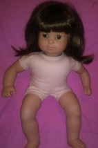 Pleasant Company American Girl Bitty Baby  Doll Brown Hair Brown Eyes - $50.19