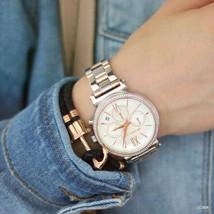 Michael Kors MK6558 Sofie Chronograph Crystal Silver Dial Women Watch FREE SHIP! - $130.44