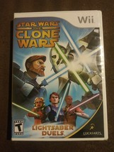 Star Wars: The Clone Wars - Lightsaber Duels (Nintendo Wii, 2008) Rated ... - $16.89