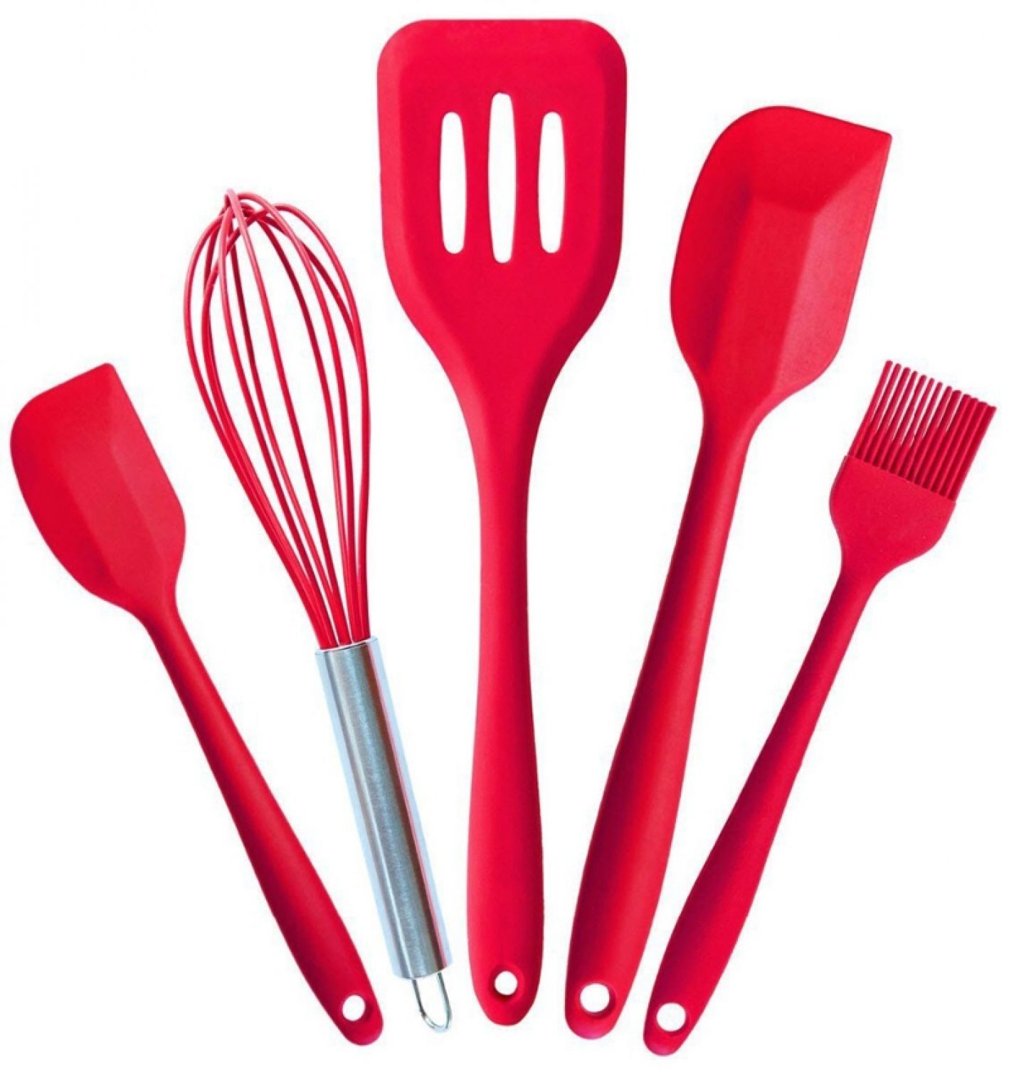Kitchen Silicone Pastry Cooking Baking Sets Cook Tools Oil Basting Brush Spatula