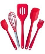 Kitchen Silicone Pastry Cooking Baking Sets Cook Tools Oil Basting Brush... - £9.75 GBP