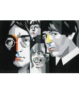The Beatles ll Painting by Gerardo Mendez Patricio - $550.00+