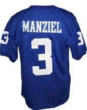 Johnny Manziel #3 Tivy High School New Men Football Jersey Blue Any Size image 5