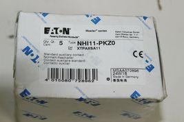Eaton, NHI11-PKZ0 Standard Auxiliary Contact, New XTPAXSA11 1pc image 3