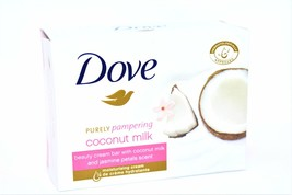 Dove Purely Pampering Coconut Milk Bar Soap, 100g - $2.50
