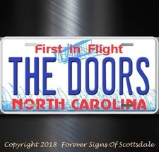 The Doors Rock and Roll Group Band North Carolina Aluminum Vanity Licens... - $12.82