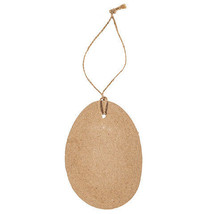 Darice Easter Paper Mache Egg Tags: 2.84 x 4 inches, 6 pack w - $6.99