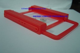 2.5 inch drive to 3.5 inch size plastic tray for SSD or Laptop Drive - New