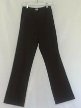 Cache Bi Stretch Flat Front Pant Sz 2/4 XS/ Small Dark Brown FAMOUS no p... - $29.95