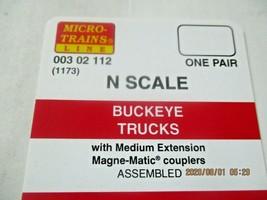 Micro-Trains Stock # 00302112 (1173) Buckeye Trucks Medium Extension (N) image 2