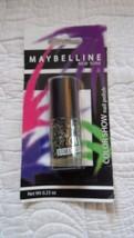 MAYBELLINE Color Show nail polish Street Art To Coat  .23 oz Black White... - $3.49