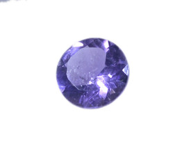 attractive Amethyst Faceted Round 4x4 mm Loose Gemstones - $1.93