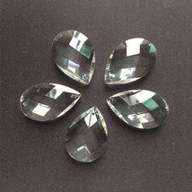 100 38MM K9 Optical Clear Crystal Prisms Ornament Suncatcher Pendant Lamp Parts - $61.76