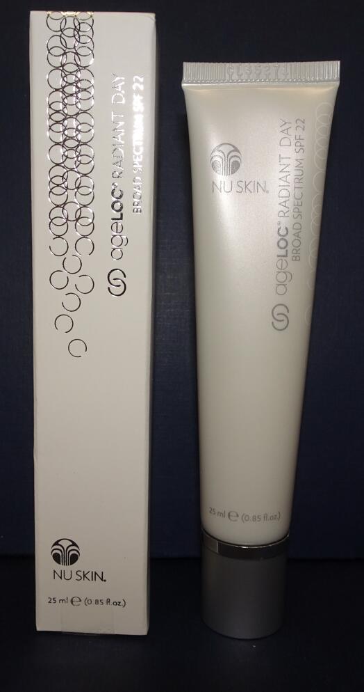 Nu Skin Nuskin ageLOC Radiant Day SPF 22 25ml 0.85oz SEALED IN BOX - $60.00