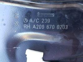 03-09 Mercedes W209 CLK320 CLK500 Convertible Rear Window Regulator Pssngr Right image 8