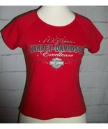 Harley Davidson Daytona Beach, Florida Womens T-Shirt-105TH Anniversary-... - $9.89