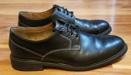 Bostonian Soft Formal Oxfords Black Lace-Up Leather Dress Shoes for Men, 11.5 M - $27.66