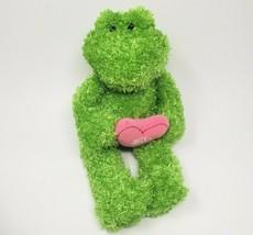 GUND Love Est dans Le Air Kyndall 319998 Vert Grenouille Hug Cœur Peluche Animal - $36.29