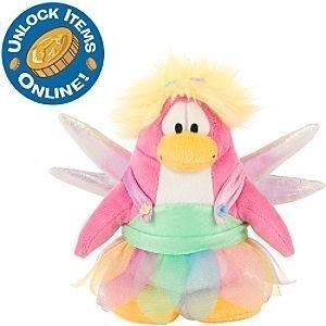 Primary image for Club Penguin Rainbow Fairy Costume 6-1/2 Inch Scale Plush Toy with Online Code