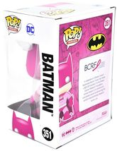 Funko Pop! Heroes Batman #351 BCRF Pink Breast Cancer Awareness Figure image 3