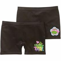 Teenage Muntant Ninja Turtles Girls Seamless Play Shorts 2 Pack Size MEDIUM 8  - $10.88
