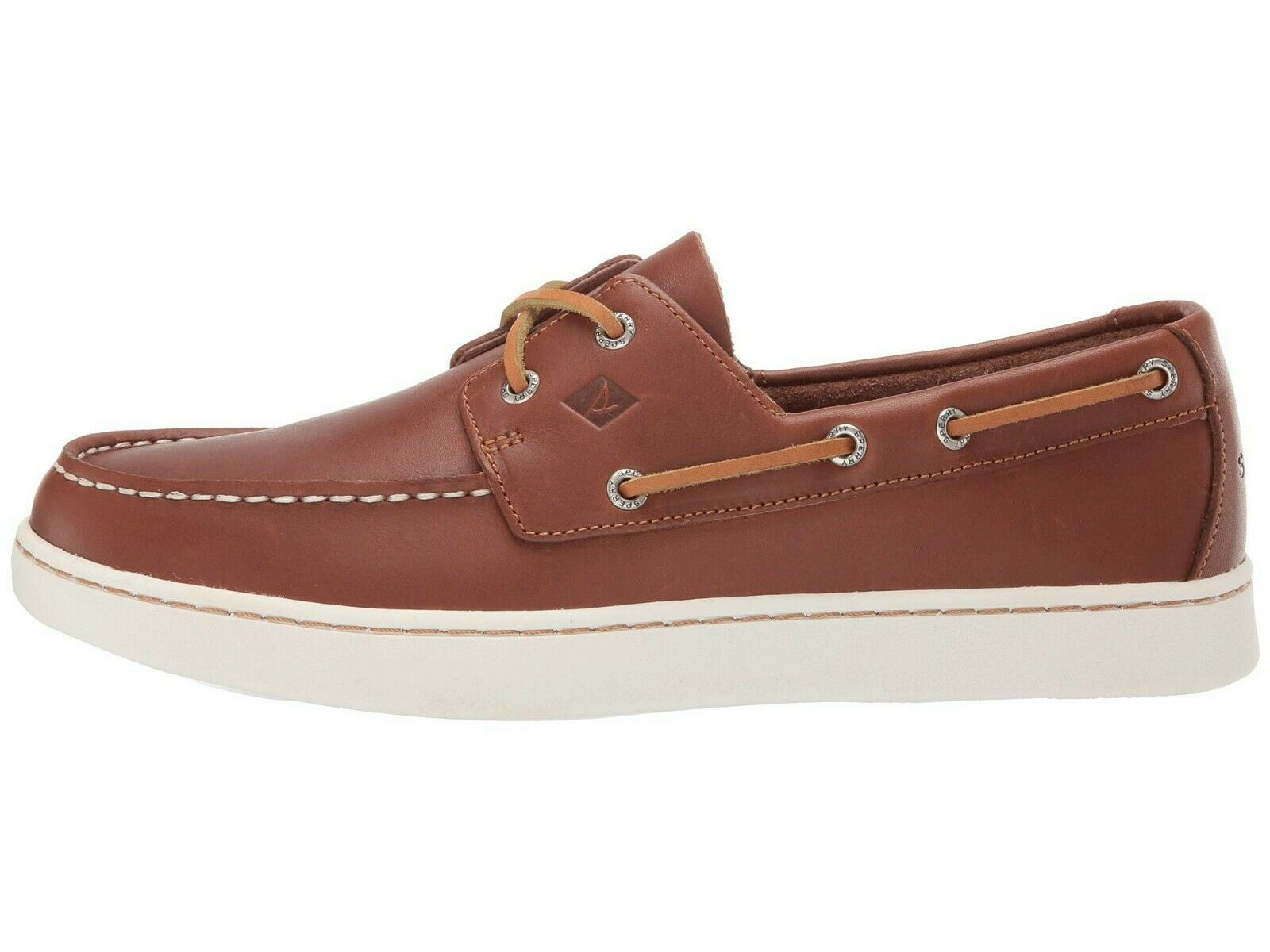 Men's Sperry Top-Sider Cup 2 Eye Leather Oxford, STS18791 Multiple Sizes Tan image 4