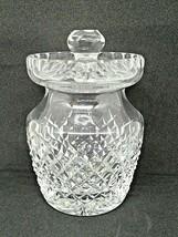 Waterford Crystal Jam Marmalade Jar  Irish Cut Crystal - $73.52