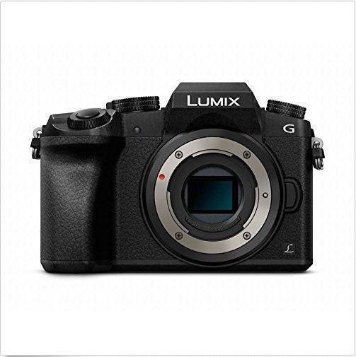 Panasonic Lumix DMC-G7 Mirrorless Micro Four Thirds Digital Camera (Black Body O