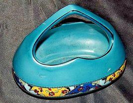 Czechoslovakia Ceramic Basket AA18-1368-K Vintage image 4